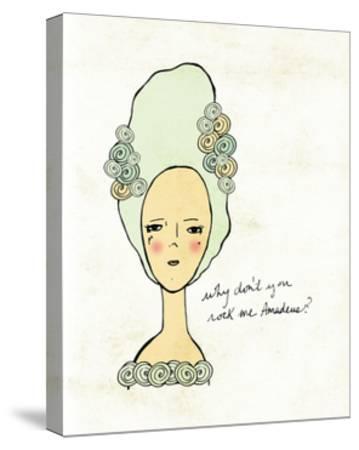 Amadeus-Lisa Barbero-Stretched Canvas Print