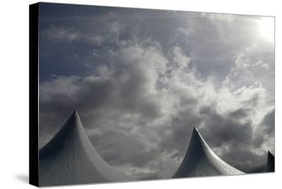 Tents Against Sky-Tyrone Turner-Stretched Canvas Print