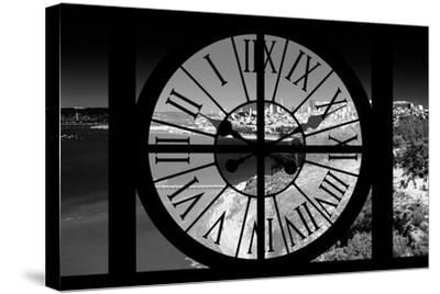 Giant Clock Window - View of the San Francisco Bay-Philippe Hugonnard-Stretched Canvas Print