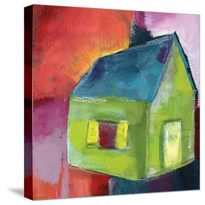 Greenhouse-Linda Woods-Stretched Canvas Print