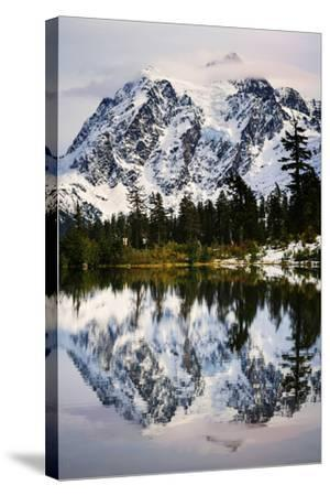 Fall Reflections-Nancy Crowell-Stretched Canvas Print
