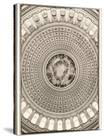 Capitol Rotunda-Lillis Werder-Stretched Canvas Print