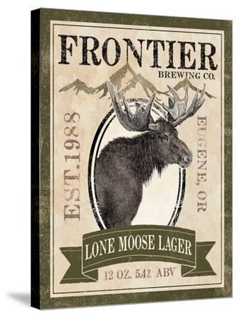 Frontier Brewing II-Laura Marshall-Stretched Canvas Print