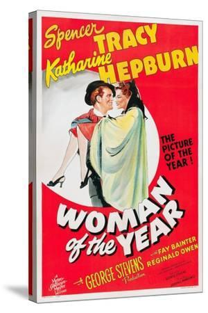 Woman of the Year, 1942--Stretched Canvas Print