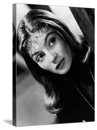 Anouk Aimee--Stretched Canvas Print
