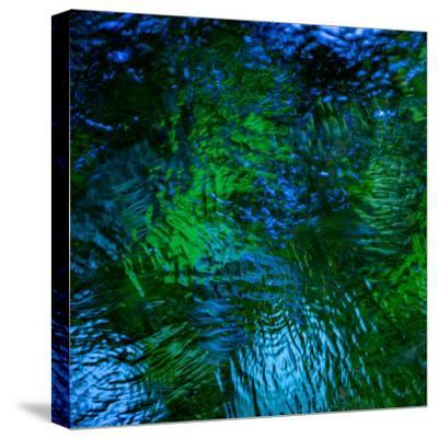 Monets Pool II-Doug Chinnery-Stretched Canvas Print