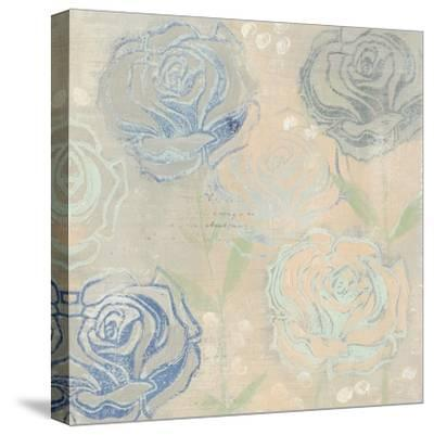 Rose Cache II-Grace Popp-Stretched Canvas Print