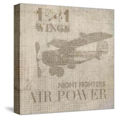 Vintage Aviation I-Irena Orlov-Stretched Canvas Print