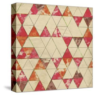 Geometric Color Shape IV-Irena Orlov-Stretched Canvas Print