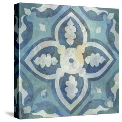 Patinaed Tile IV-Naomi McCavitt-Stretched Canvas Print