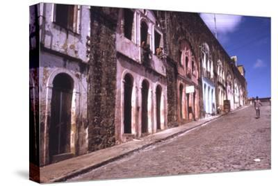 Slums of Salvador, State of Bahia, Brazil-Alfred Eisenstaedt-Stretched Canvas Print