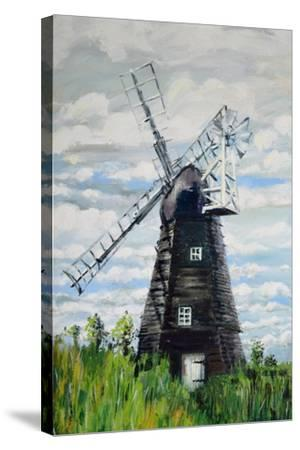 The Windmill-Joan Thewsey-Stretched Canvas Print