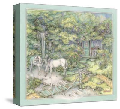 Woodland Destination-Kim Jacobs-Stretched Canvas Print