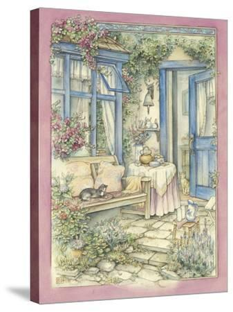 Afternoon Tea-Kim Jacobs-Stretched Canvas Print