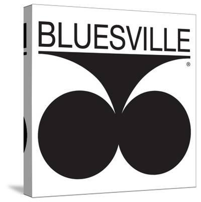Bluesville Records Logo--Stretched Canvas Print