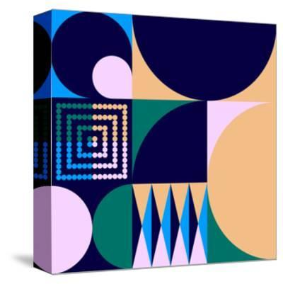 Geo #4-Greg Mably-Stretched Canvas Print