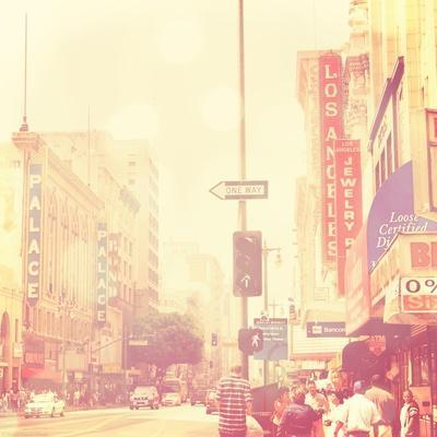 Sunday Afternoon in Los Angeles-Myan Soffia-Stretched Canvas Print