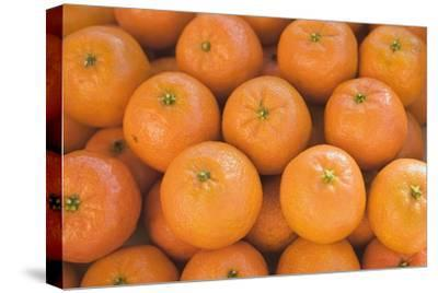 Clementines (Full-Frame)-Foodcollection-Stretched Canvas Print