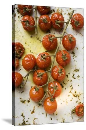 Roasted Cherry Tomatoes-Foodcollection-Stretched Canvas Print