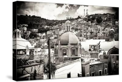 ¡Viva Mexico! B&W Collection - Guanajuato III-Philippe Hugonnard-Stretched Canvas Print