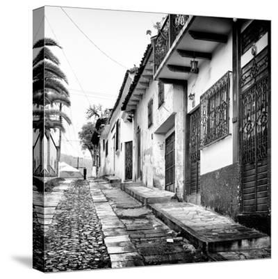 ¡Viva Mexico! Square Collection - Street in San Cristobal de Las Casas-Philippe Hugonnard-Stretched Canvas Print
