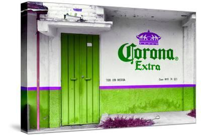 ?Viva Mexico! Collection - Extra Kelly Green-Philippe Hugonnard-Stretched Canvas Print