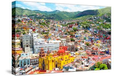 ¡Viva Mexico! Collection - Guanajuato II-Philippe Hugonnard-Stretched Canvas Print
