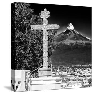 ¡Viva Mexico! Square Collection - Popocatepetl Volcano in Puebla IX-Philippe Hugonnard-Stretched Canvas Print