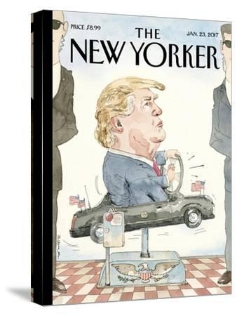 The New Yorker Cover - January 23, 2017-Barry Blitt-Stretched Canvas Print