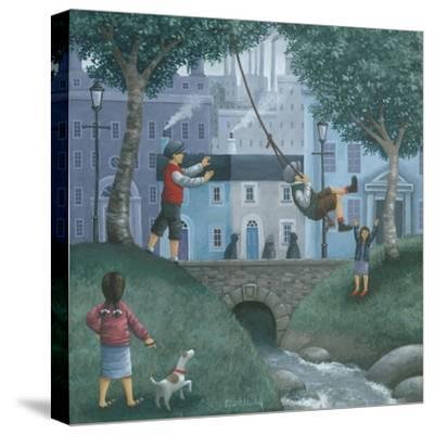 The Swing-Peter Adderley-Stretched Canvas Print
