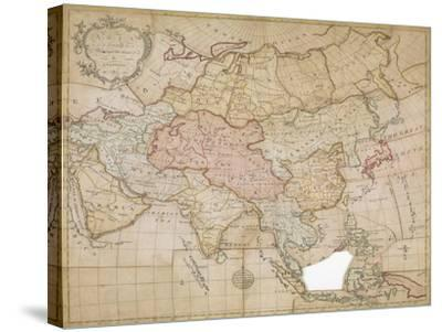 Asia in its Principal Divisions, London, 1767-John Spilsbury-Stretched Canvas Print