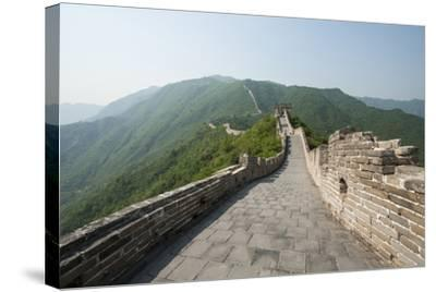 The Original Mutianyu Section of the Great Wall, Beijing, China-Michael DeFreitas-Stretched Canvas Print