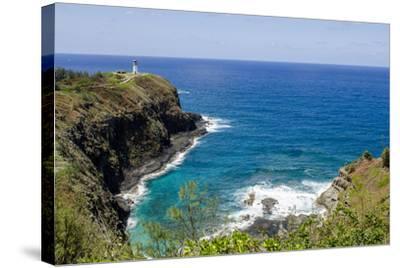 Historic Kilauea Lighthouse on Kilauea Point National Wildlife Refuge, Kauai, Hawaii-Michael DeFreitas-Stretched Canvas Print
