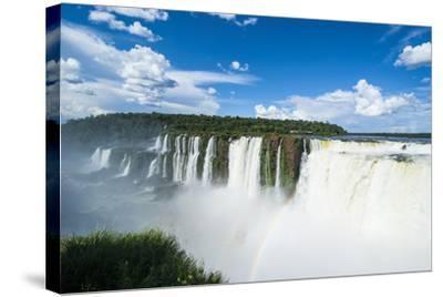 Iguazu Falls, Foz De Iguazu, Argentina-Michael Runkel-Stretched Canvas Print