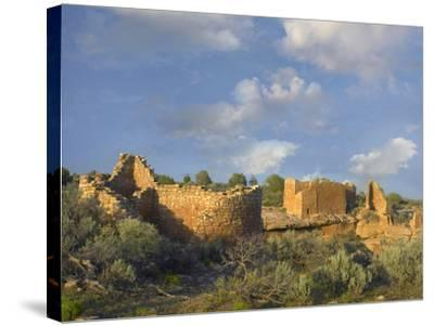 Hovenweep House and Hovenweep Castle, Hovenweep National Monument, Utah-Tim Fitzharris-Stretched Canvas Print
