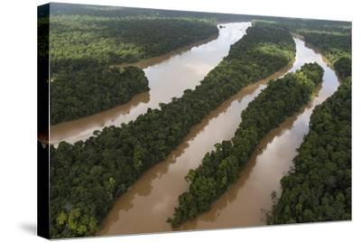 Cuyuni River, Guyana. Longest River in Guyana-Pete Oxford-Stretched Canvas Print
