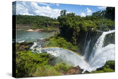 Unesco World Heritage Site, Foz De Iguacu, Argentina-Michael Runkel-Stretched Canvas Print
