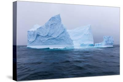 South Georgia Island. Large Iceberg on Cloudy Day-Jaynes Gallery-Stretched Canvas Print