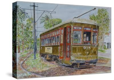 St. Charles Streetcar, 2008-Anthony Butera-Stretched Canvas Print