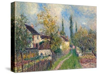 Les Sablons, 1883-Alfred Sisley-Stretched Canvas Print
