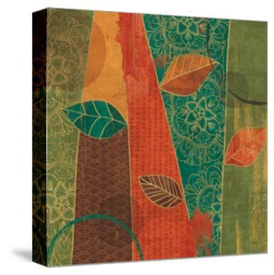 Bohemian Leaves II-Veronique Charron-Stretched Canvas Print