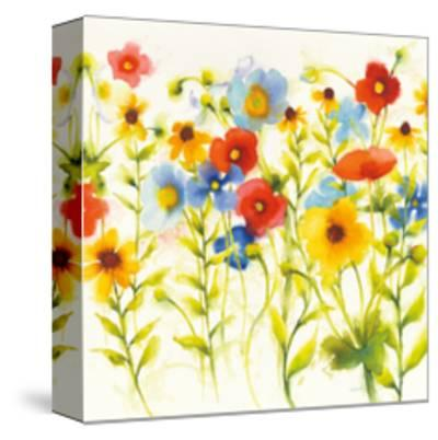 Americana Meadow I Crop-Shirley Novak-Stretched Canvas Print