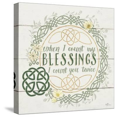 Irish Blessing II-Janelle Penner-Stretched Canvas Print
