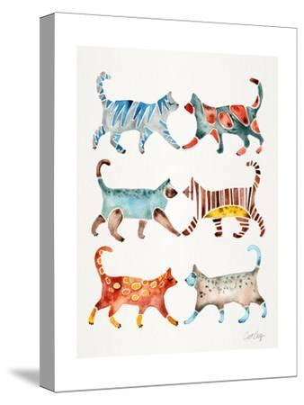 Original Cat Collection-Cat Coquillette-Stretched Canvas Print
