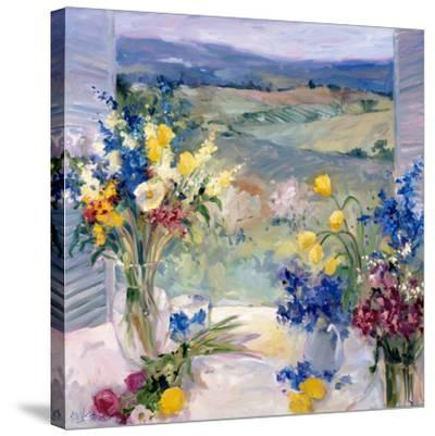 Tuscany Floral-Allayn Stevens-Stretched Canvas Print