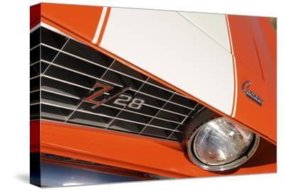 Chevrolet Camaro Z28 1969-Simon Clay-Stretched Canvas Print