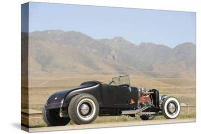 Ford Burning Desire Roadster 1927-Simon Clay-Stretched Canvas Print