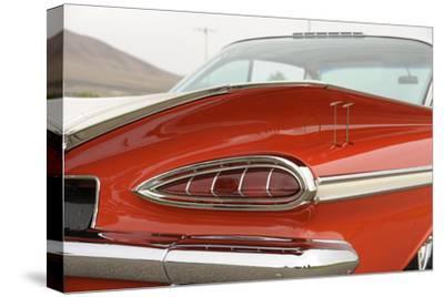 Chevrolet Impala Bubble top 1959-Simon Clay-Stretched Canvas Print