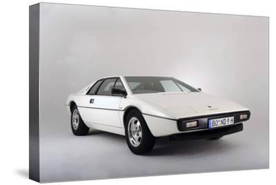 Lotus Esprit 1977 from the James Bond film The Spy Who Loved Me-Simon Clay-Stretched Canvas Print