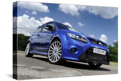 Ford Focus RS 2009-Simon Clay-Stretched Canvas Print